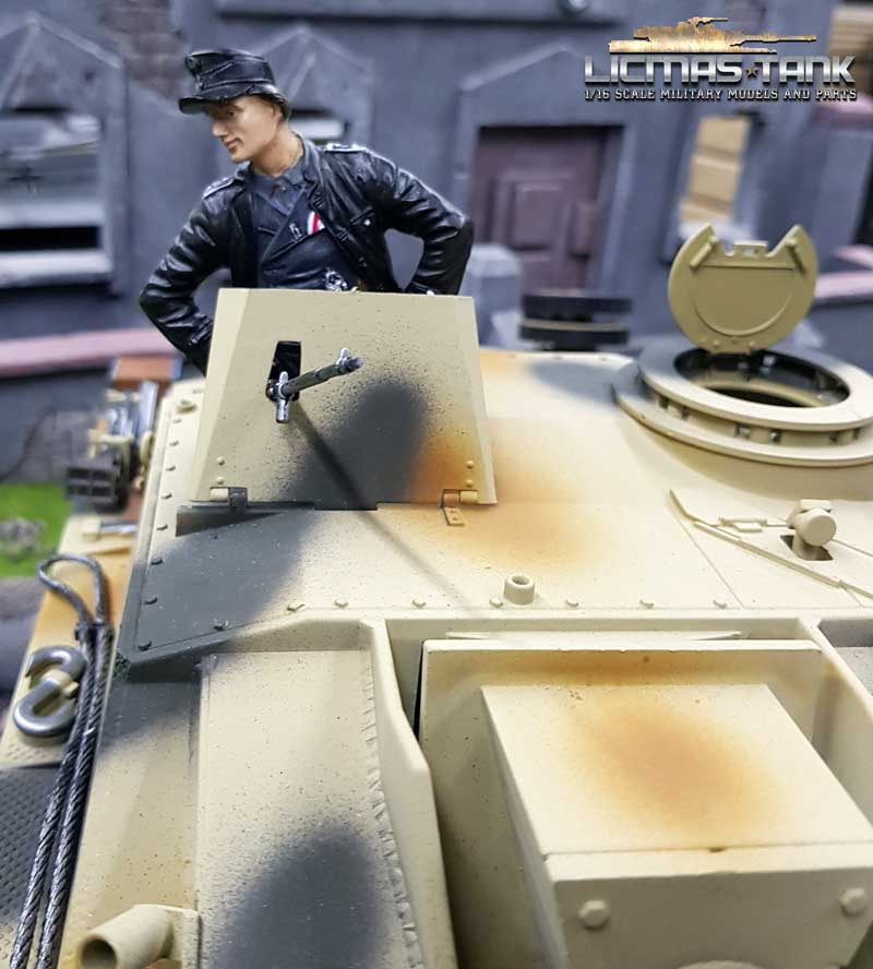 tank soldier licmas-tank F1009 hobby scale 1:16