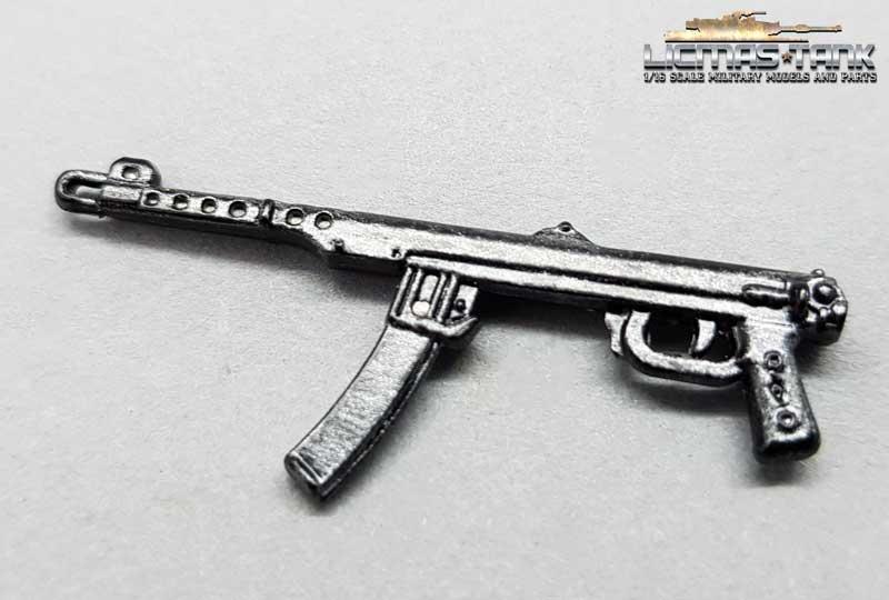 PPS43 Metal W1005 licmas-tank metal gun scale 1:16 Model