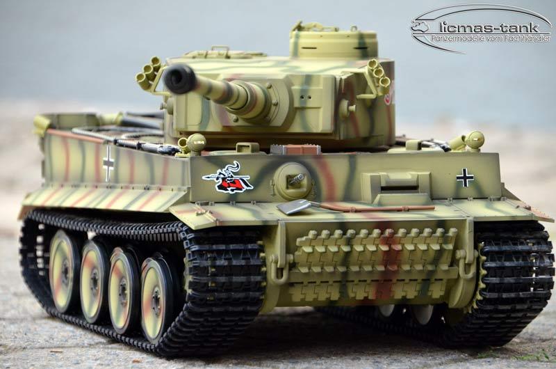2 4 ghz taigen tiger 1 rc panzer kursk sonderlackierung bb. Black Bedroom Furniture Sets. Home Design Ideas