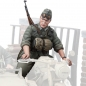 Mobile Preview: German Motorcycle Trooper 3 Model Kit (SOL Model) Scale 1/16