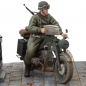 Preview: Motorcycle Zündapp KS-750/1 Solo with Trooper Model Kit - Scale 1/16 (SOL Model)