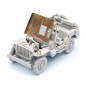 Preview: WW II Willys Jeep Model Kit - Scale 1/16 - Limited Edition
