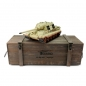 "Preview: Jagdtiger (""Hunting Tiger"") Metal Edition in Wooden Ammunition Box - IR - Desert/Sand Camo"