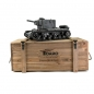 Preview: 1/16 RC KV-2 754r Metal Edition in Wooden Ammunition Box IR Grey Torro Pro-Edition