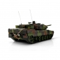 Mobile Preview: 1/16 Leopard 2A6 IR Rauch Torro Pro Edition Flecktarn mit Holzkiste