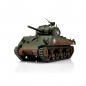 Preview: RC Tank M4A3 Sherman 75mm green BB 1/16