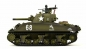 Preview: RC Panzer U.S. M4A3 Sherman Heng Long 1:16 Advanced Line IR/BB
