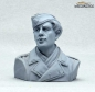 Preview: German Tank Crew Driver Normandy 1944 Half Body Figure UNPAINTED 1:16