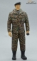 Preview: Figure Soldier Tank Division Bundeswehr Camouflage standing with beret handpainted 1:16