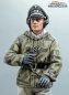 Mobile Preview: 1/16 Figur deutsche Panzer Mannschaft Wehrmacht Winter Kommandant WW2