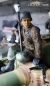 Preview: 1/16 Figure Soldier WW2 Pea dot pattern German Tank Rider with bazzoka and StG44 Wehrmacht
