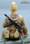 Preview: Figure Soldier WW2 Russian Scout with binoculars Tankrider Amobea Pattern brown 1:16