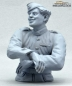Mobile Preview: German Tank Crew Radio Operator Normandy 1944 Half Body Figure UNPAINTED 1:16