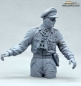 Preview: Half Body Commander German Tank Crew Normandy 1944 unpainted