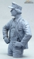 Preview: German Tank Crew Loader Normandy 1944 Half Body Figure not painted