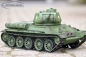 Preview: RC tank Russian T-34/85 Heng Long scale 1/16 steel gear 2.4Ghz V7.0