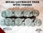 Preview: Metal wheels Tiger 1 late version 1/16