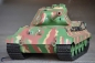 Mobile Preview: RC TANK 2.4 GHZ KÖNIGSTIGER WITH PORSCHE TOWER SOMMERTARN GREEN 1:16