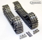 Preview: Top quality tanks 4 silver metal tracks 1:16 Taigen for Heng Long Tanks