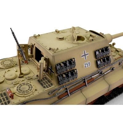 "Jagdtiger (""Hunting Tiger"") Metal Edition in Wooden Ammunition Box - BB - Desert Camo"