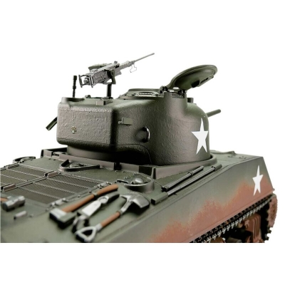 RC Panzer Sherman M4A3 Profi-Edition IR Version Torro 1/16