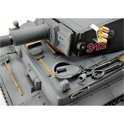 1/16 RC Tiger I Early Version Tank IR Gray Torro Pro-Edition