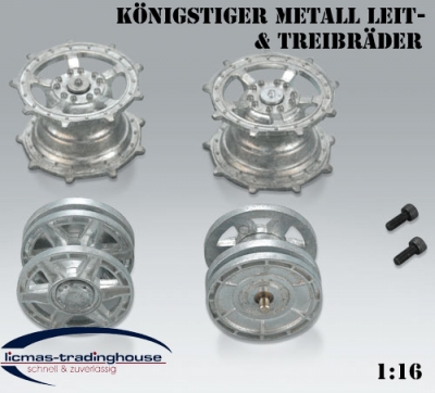 Heng Long / Taigen / Torro metal Stur and idler wheels