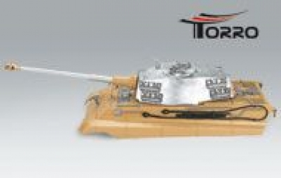 upper hull TORRO King Tiger / Tiger II tanks with professional infrared battle system