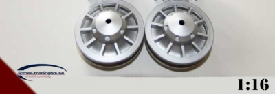 1 pair of plastic idler wheels for the Tiger 1 metal chassis