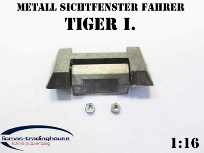 Metal viewing window Tiger 1 Heng Long 1/16