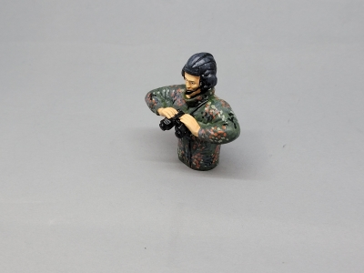 Leopard tank commander camouflage scale 1:16