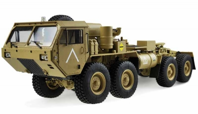 RC model U.S. Military truck V2 8x8 1:12 tractor, sand-colored