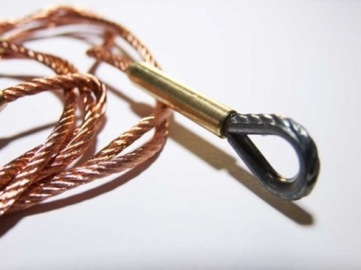 Metal steel ropes for tanks 3 color copper