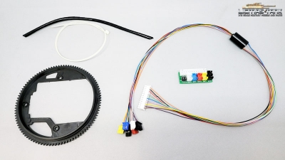 360 degree kit 100mm for Heng Long tanks from TK6.0 electronics upgrade part