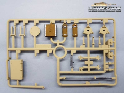 Heng Long / Taigen Accessories Part A painted for 3868 RC Tank