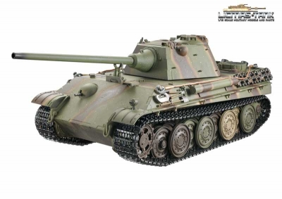 Metal Edition Kit Panther Ausf. F Scale 1:16