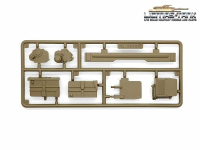 Russia T90 Plastic Accessories Set C 3938 Heng Long 1:16