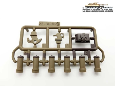 Russia T90 Plastic Accessories Set G 3938 Heng Long 1:16