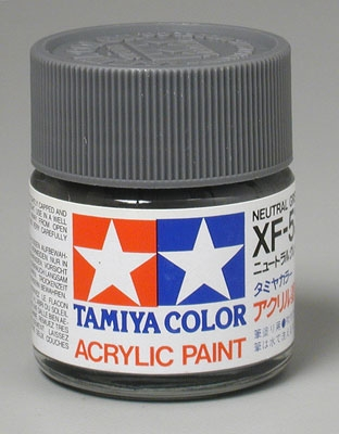 Tamiya Farbe XF-53 ( item 81353 ) Neutral Grey matt 23 ml