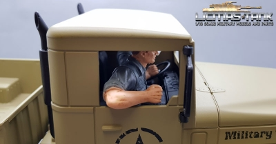 1/16 Figure Co-Driver Truck or Car