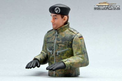 Bundeswehr Tank Commander Half Body German Tank Crommander