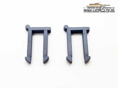 Heng Long Spare Part Plastic Holders for Jack on Tanks painted