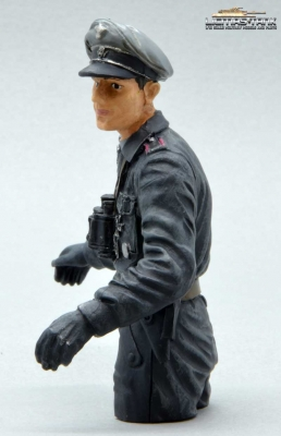 1/16 Figure Half Body Commander German Tank Crew WW2 Normandy 1944