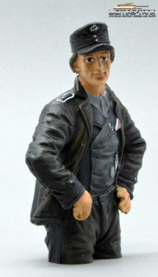 German Tank Crew Loader Normandy 1944 Half Body Figure painted