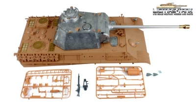 Metal Edition Kit Panther Ausf. G Scale 1:16