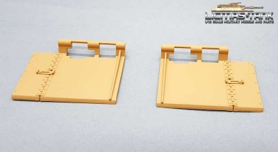 RC tank track splash guard Plastic 1:16