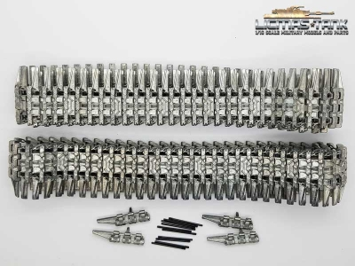 High Quality Taigen Winterkette 1941 für Panzer 3 StuG 3 silber 1:16