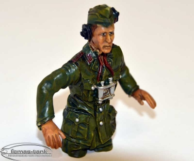 Top price !!! German Panzer Commander 1:16 Resin hand-painted individual pieces