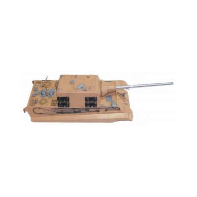 Torro Jagdtiger upper hull with canon recoil system and flash 1/16