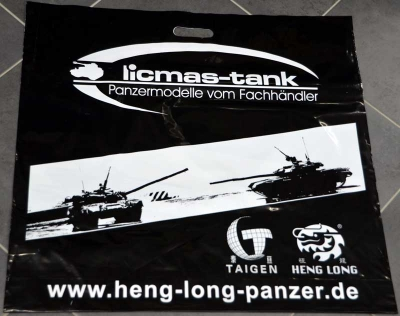 Large double-sided printing carrying plastic case of licmas tank